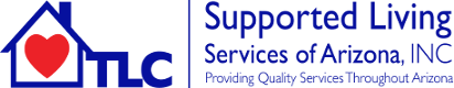 TLC Supported Living Services Logo